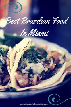 Best Brazilian Food In Miami http://www.starwoodanimaltransport.com/blog/best-brazilian-food-in-miami @starwoodpetmove